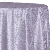 Gray - Damask Contemporary Velvet & Sheer Overlay by Eastern Mills - Many Size Options
