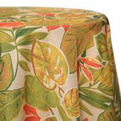 Green/Orange - Fiji Tablecloths - MANY SIZE OPTIONS
