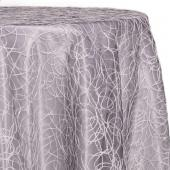 Grey - Elegant Sheer Overlay by Eastern Mills- Many Size Options