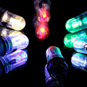 LED Balloon Lights  - Choice of Colors - 10 pack!