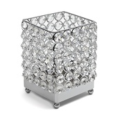 DecoStar™ Real Crystal Square Candle holder - MED