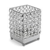 DecoStar™ Real Crystal Square Candle holder - MED