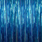 Ice Blue - Metallic Fringe Curtain - Many Size Options