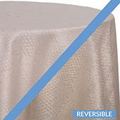 Ice - Extravagant B Tablecloths - DOUBLE-SIDED - MANY SIZE OPTIONS