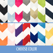 "Chevron - 100% Polyester - By The Yard - 58-60"" Width"