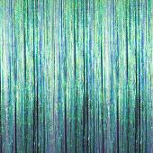 Iridescent - Cracked Ice Fringe Curtain - Many Size Options