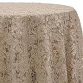 Ivory - Chantal Lace Overlay - MANY SIZE OPTIONS