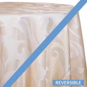 Ivory - Laura Designer Tablecloths by Eastern Mills - Many Size Options