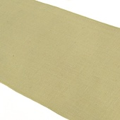 "100% Natural Rustic Jute Burlap Table Runner (14"" x 72"") - Ivory"