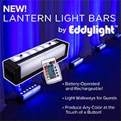LED DMX Battery Powered Lantern / Light Bar- RGBW
