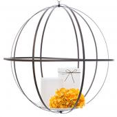 DecoStar™ Wrought Iron Folding Sphere w/ Antiqued Finish - 24