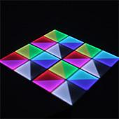 LED DMX Dance Floor - Improved! 6.6ft x 9.9ft