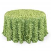 Lime - Gatsby Designer Tablecloths by Eastern Mills - Many Size Options