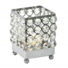 Real Crystal Square Candle holder - SM