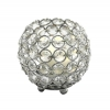Crystal Candle Globe / Sphere - Small - 3.75""