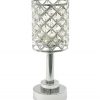 Real Diamond Crystal Candle Holder - M