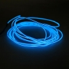 Battery-Operated Electroluminescent (EL) Wire - 6ft (1.8M) Long - Blue