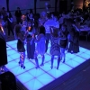 4pc LED Dance Floor Kit - Multi Color - Great for Dancefloors & Stages (6.6ft x 6.6ft)
