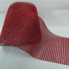 Red Rhinestone Mesh-30 Foot Roll