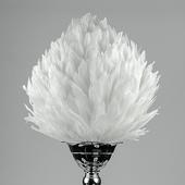 "DecoStar™ Premium 16"" Feather Ball - White"