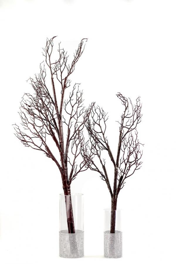 Bendable Artificial Manzanita Branches Walnut Large