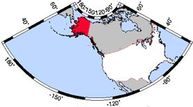 Alaska Wedding Map