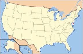 Delaware Wedding Map