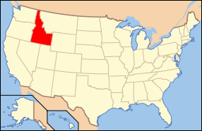 Idaho Wedding Map
