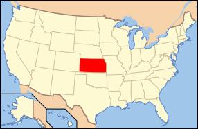 Kansas Wedding Map