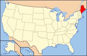 Maine Wedding Map