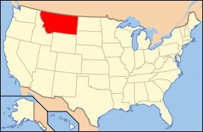 Montana Wedding Map