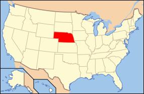 Nebraska Wedding Map