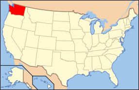 Washington Wedding Map