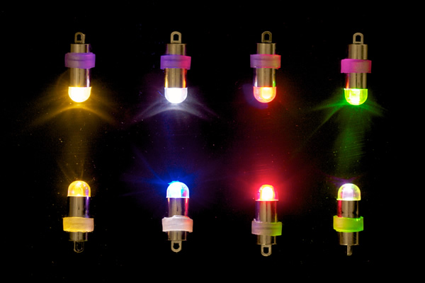 Led mini party lights batteries included choice of for Decor direct