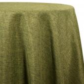 Olive - Designer Fiesta Linen Broad Tablecloth by Eastern Mills - Many Size Options