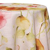 Orange - Monet Tablecloths - MANY SIZE OPTIONS