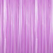 Orchid - Plastic Wet Look Fringe Curtain - Many Size Options