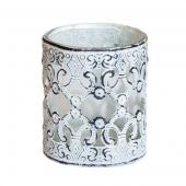 DecoStar™ Overlay Metal Celtic Scroll Candle Holder / Votive - 2.75""