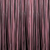 Pink - Plastic Wet Look Fringe Curtain - Many Size Options