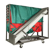 "Pipe & Drape ""Party Cart"" - Holds 200 linear feet of Pipe, Bases, Drape & Crossbars"