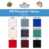 "12 oz. Fire Retardant Polyester Velour by the Yard - Economy Decorator Grade - 60"" Wide - Choice of Colors"