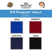 "23oz. Fire Retardant Polyester Velour by the Yard - Economy Decorator Grade - 60"" Wide - Choice of Colors"