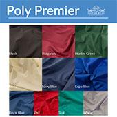 "Poly Premier Cloth Drape Panel by Eastern Mills w/ Single Rod Pocket - 34"" Length - 12ft Wide"