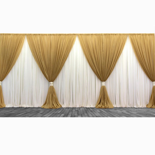 Premium Two Tone 3 Panel Backdrop Height 6 10ft