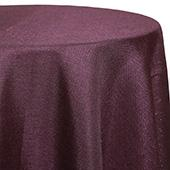 Purple - Designer Glitz Linen Broad Tablecloth by Eastern Mills - Many Size Options