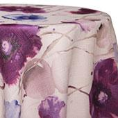Purple - Monet Tablecloths - MANY SIZE OPTIONS