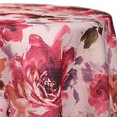 Raspberry - Renoir Tablecloths - MANY SIZE OPTIONS