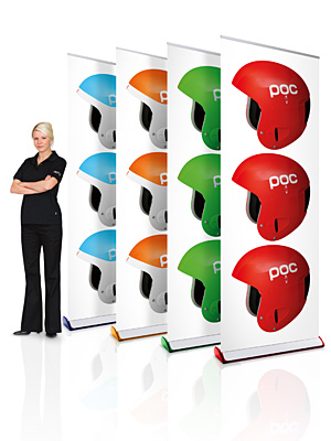 Retractable Displays & Roll-Up Banners