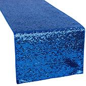 Standard Sequin Table Runner by Eastern Mills - Royal Blue