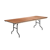 8FT 48X96 Wide Plywood Table